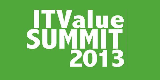 ITValue Summit :2013 IT价值峰会