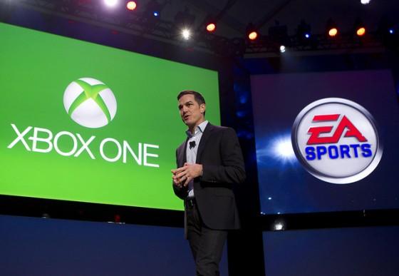 微软发布游戏主机Xbox One现场