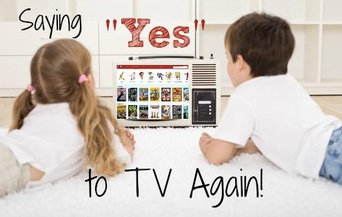 电视机前的儿童争夺战