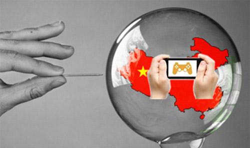 中国手游的高速泡沫,浮躁得可一触而破