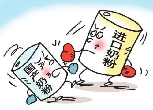 国内奶粉市场展开反垄断调查