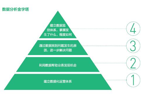 数据分析金字塔