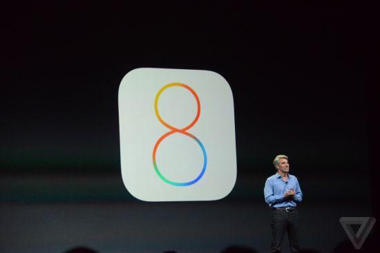 苹果iOS8