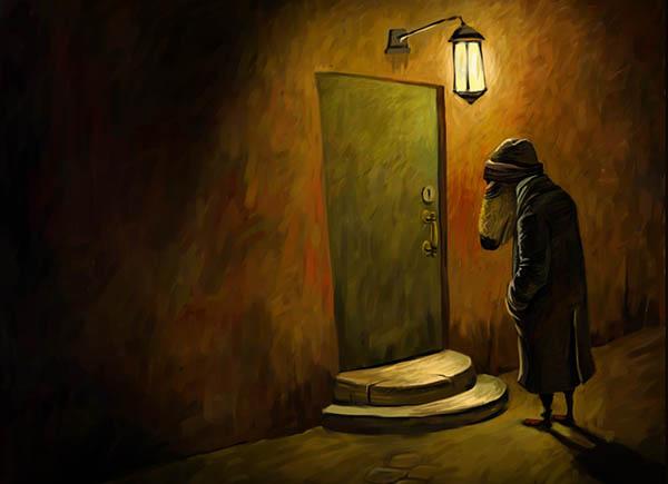 背影  孤独