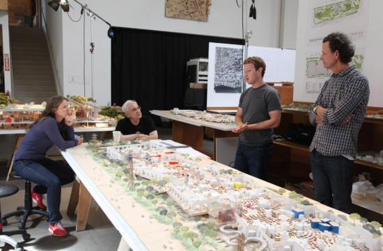 Mark Zuckerberg Frank Gehry