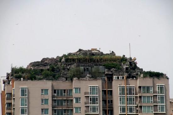 bejing rooftop mountain villa
