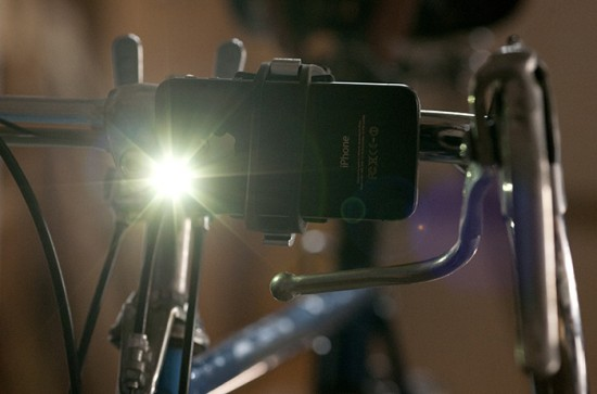 The Handleband bike light