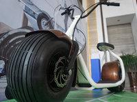 """这辆形似""""哈雷""""的电动车比汽车轮子还大"""