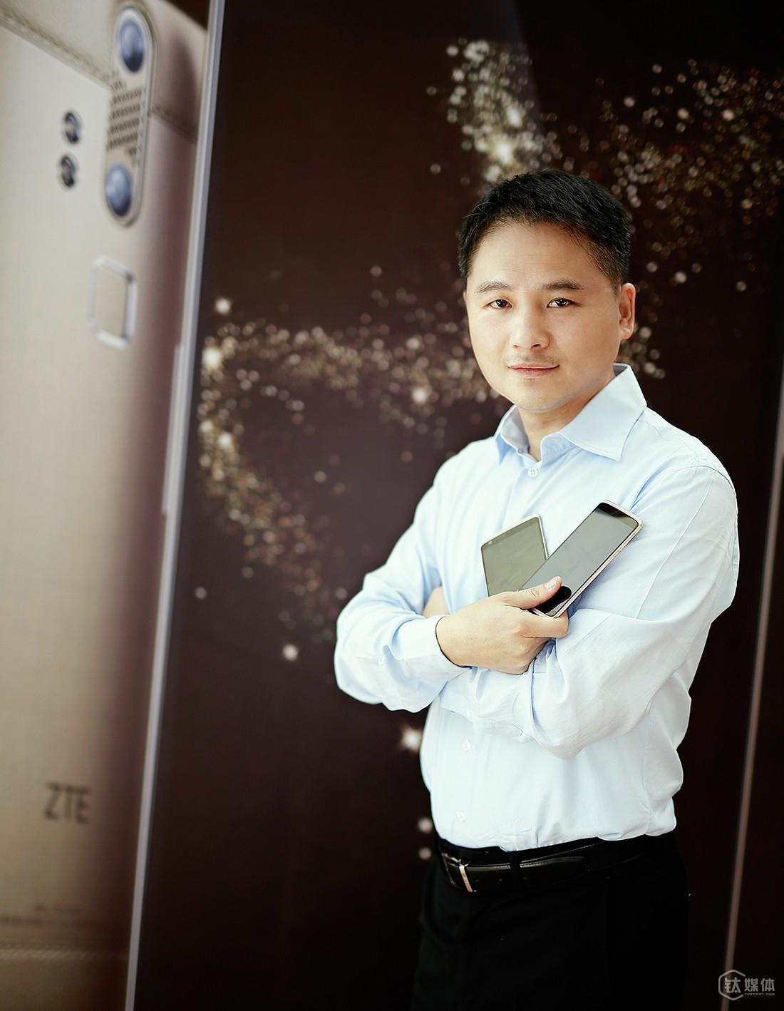 中兴通讯执行副总裁、终端CEO兼首席体验官