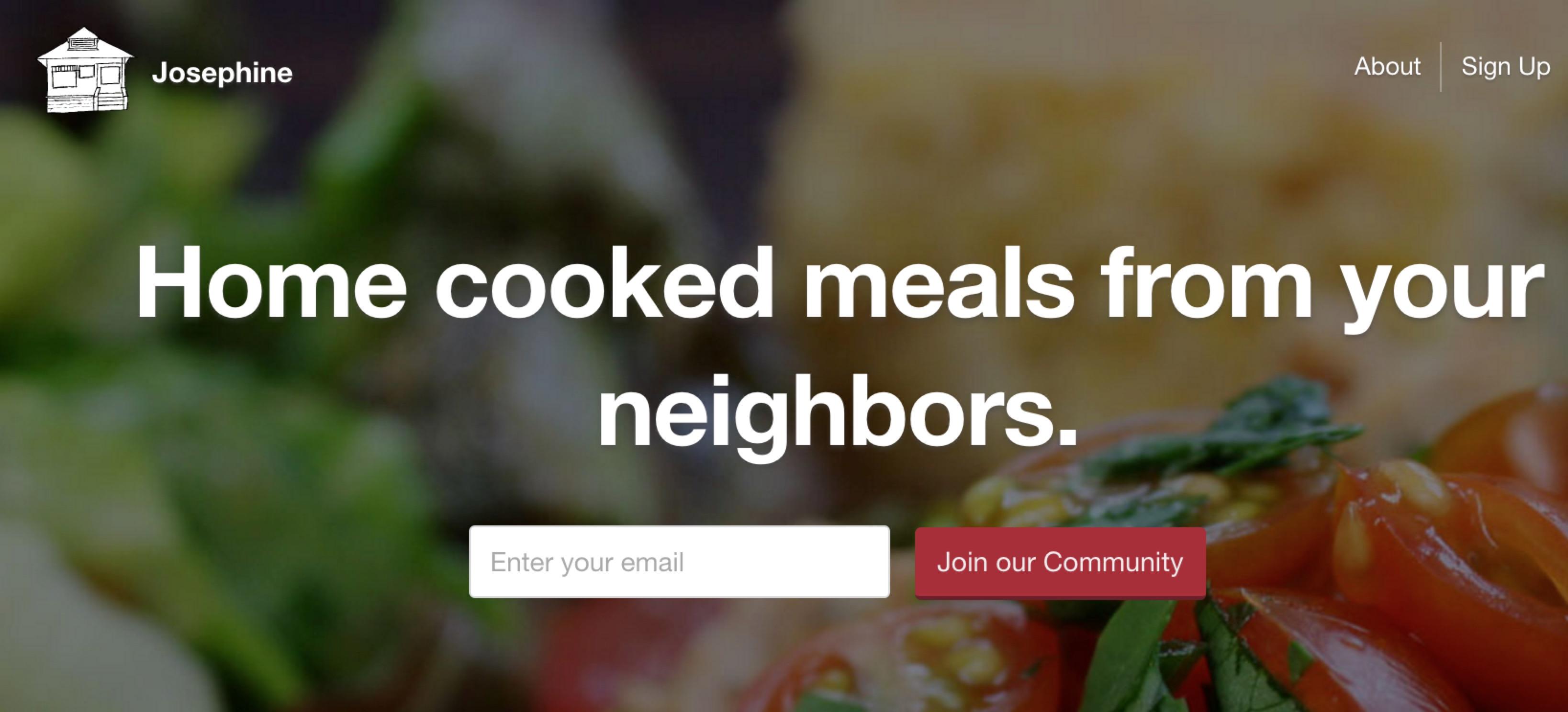 Josephine 的口号:在邻居家吃得到的家常菜。
