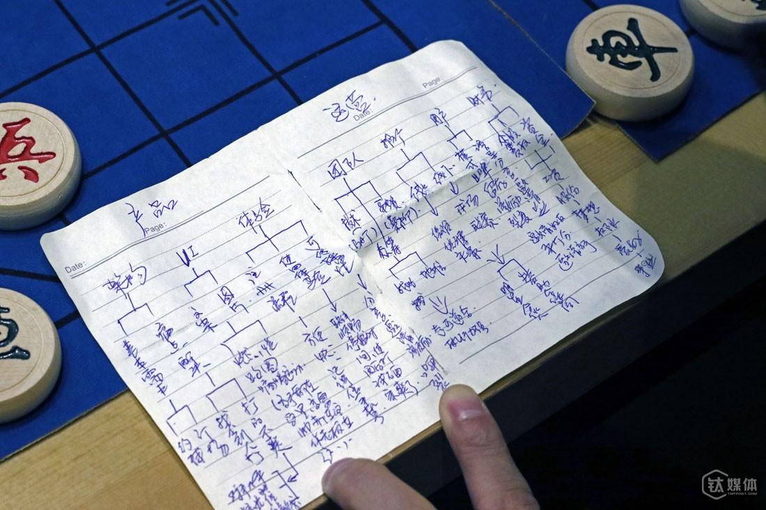 在来北京的飞机上,汪小生在笔记本写下了关于自己体育O2O创业的构想。