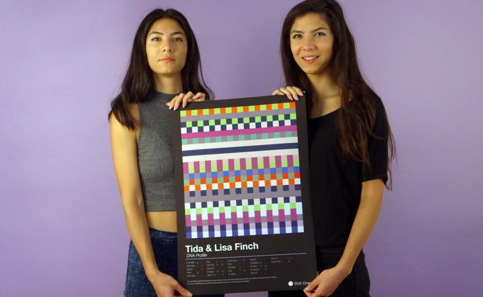 DNA定制围巾