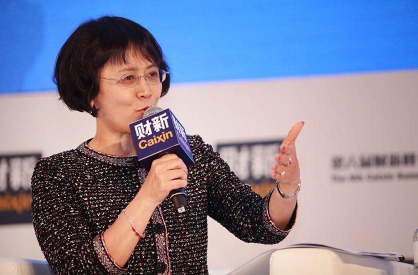 Hu Shuli, editor-in-chief of Caixin Media