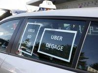 Uber暂停巴黎服务4小时,为了支持司机抗议政府新规