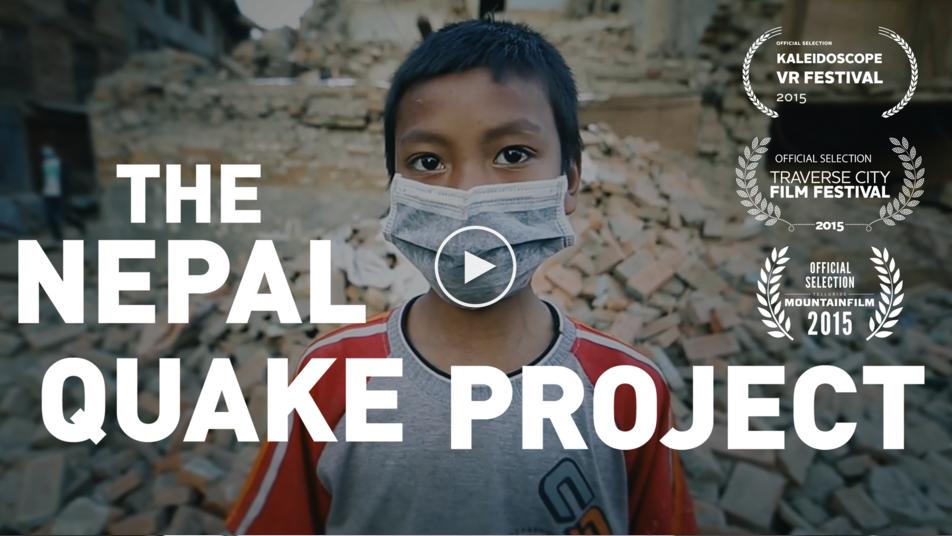 RYOT拍摄的尼泊尔地震的纪实新闻和公益项目