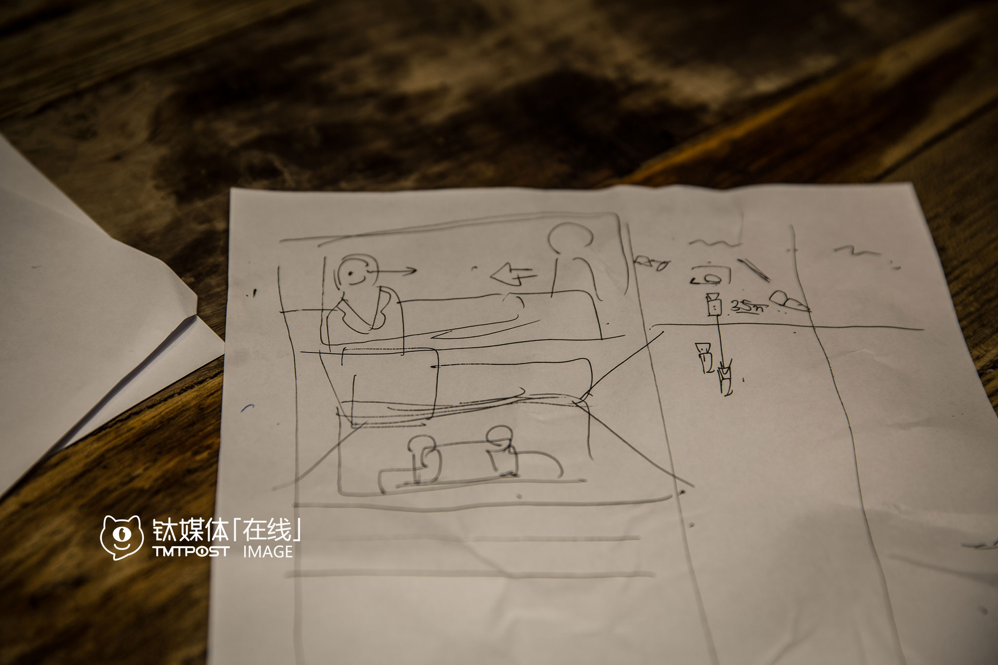In the meeting room, the scriptwriters had been brainstorming on the story and concept.
