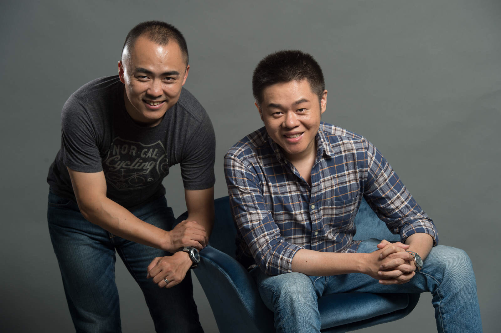 Left: Kuai Jiaqi, former CEO of Dada Right: Yang Jun, former CTO of Dada