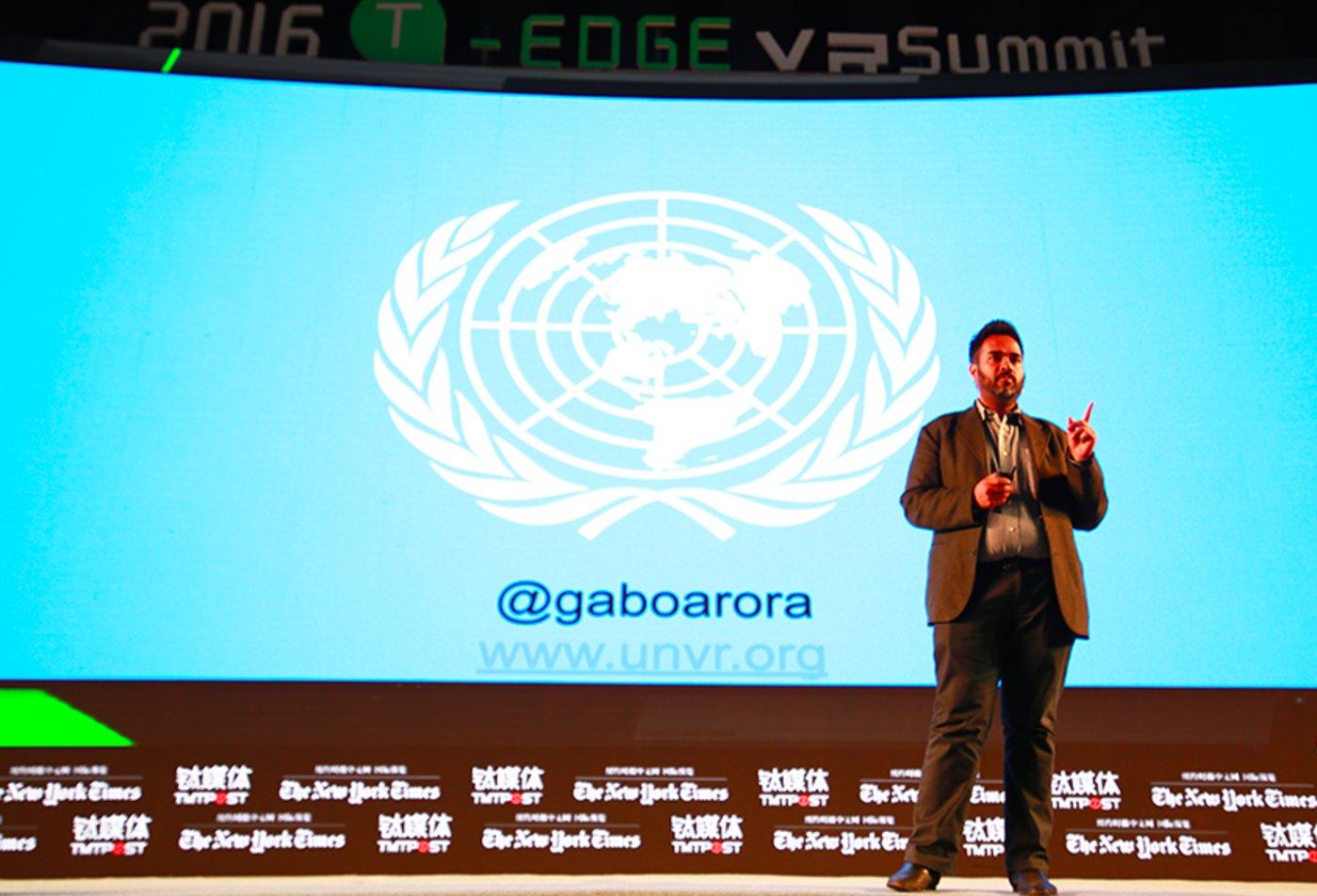 电影制作人、联合国影像顾问、LightShed创始人Gabo Arora