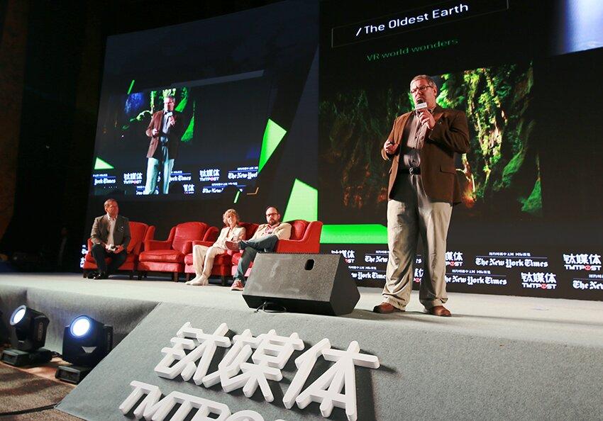 Eric Hanson是xRez工作室的合伙人、南加州大学电影艺术学院副教授