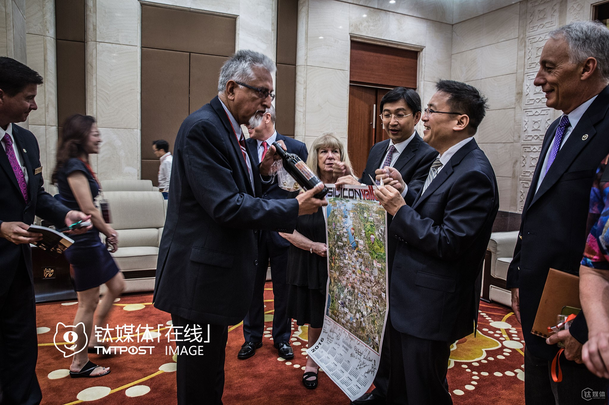 "Before the VR summit in Chongqing began, Mu Huaping, District party secetary of Yubei District, met with the delegation. After the meeting, Silicon Valley mayors gave some gifts to Mr. Mu, including city emblems, souvenirs, red wine, etc. A day before the meeting, a Silicon Valley mayor asked the interpreter: ""Does party secretaries have more power than mayors and vice mayors in China?"" He'd met party secretaries of some local Chinese government on study tours in the US, but wasn't quite sure of how power was divided in the Chinese political system."