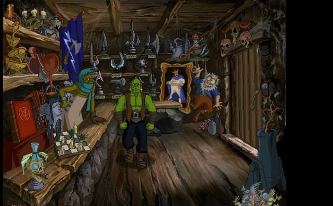 《魔兽历险记》已经完成的场景图