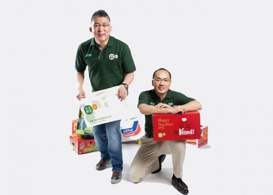 天天果园创始人&CEO 王伟(左)、联合创始人 赵国璋(右)