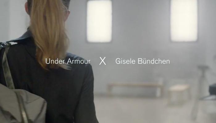 吉赛尔·邦辰2014年成为UA品牌代言人