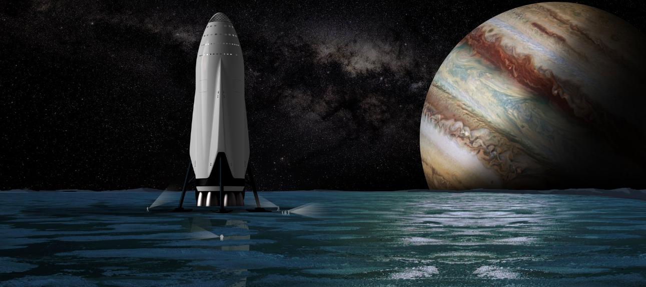"SpaceX公司""星际运输系统""中火箭与人体的对比"