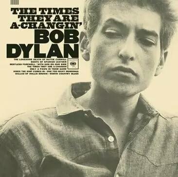 鲍勃·迪伦专辑  《时代变了》