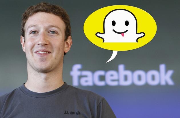 Facebook已经多次模仿Snapchat