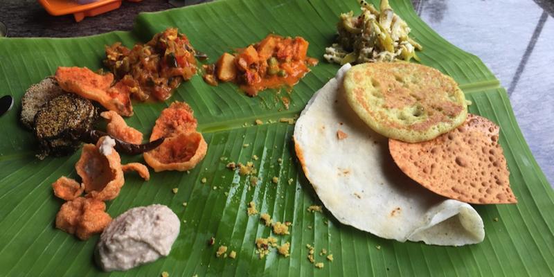 我第一次尝试的印度餐