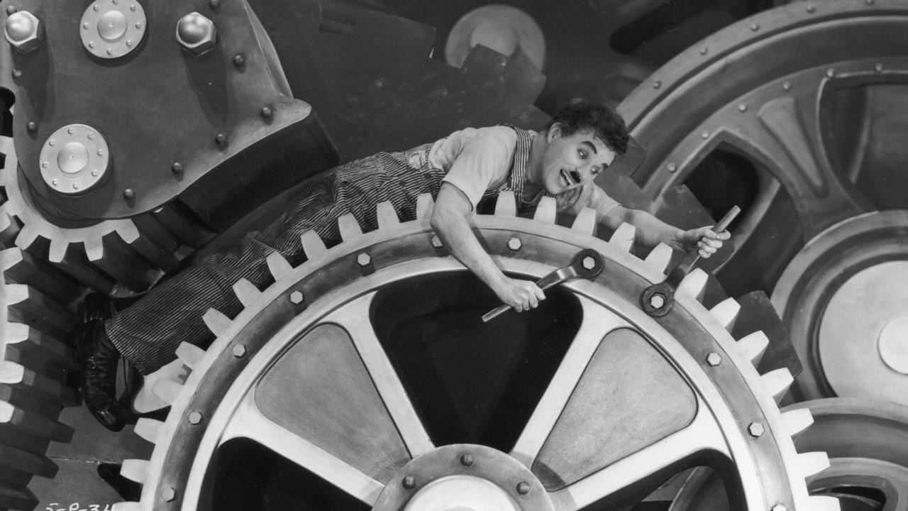 """在后摩登时代,每个人都成为""""公司""""这架机器里的零件"""