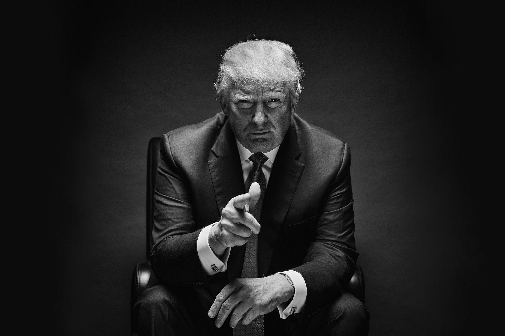 特朗普挑战的不止是美国现行的政治秩序格局,也是在颠覆一套既得利益者制定的游戏规则 Damon Winter/The New York Times 来源:《纽约时报》