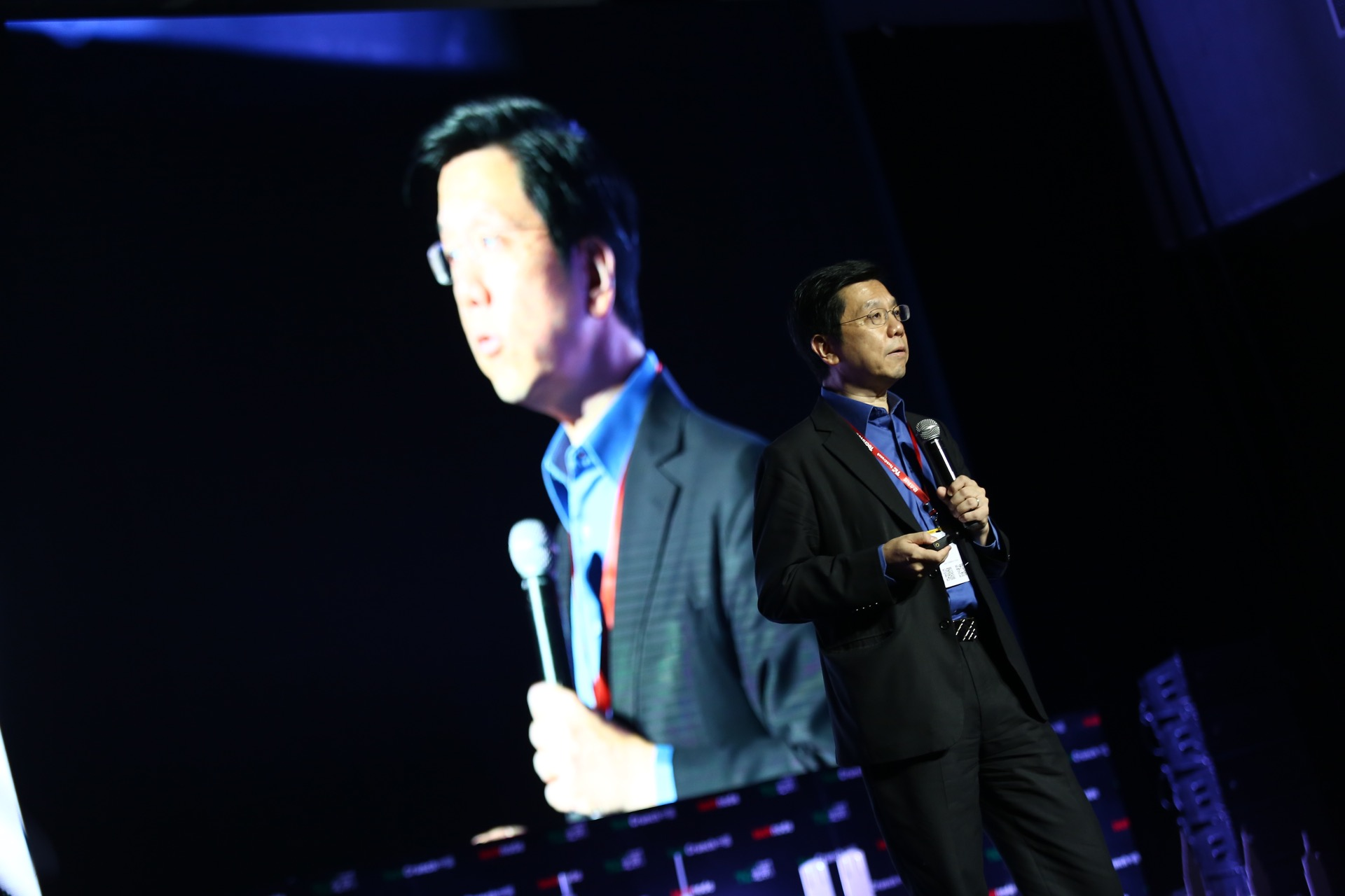 Kaifu Lee at 2016 TechCrunch Conference