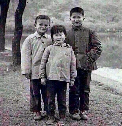 马云小时候的照片