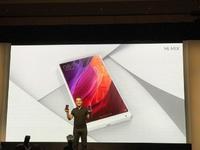 除了无边框电视,小米还带来了白色版手机MIX | CES 2017