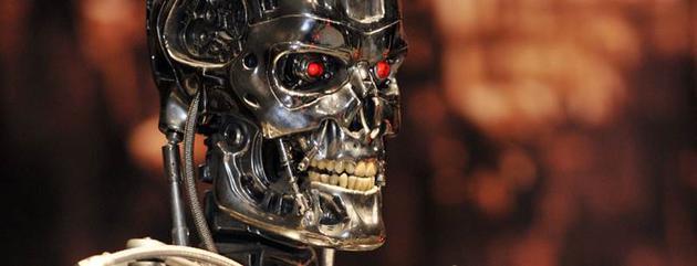 电影《终结者》中的机器人