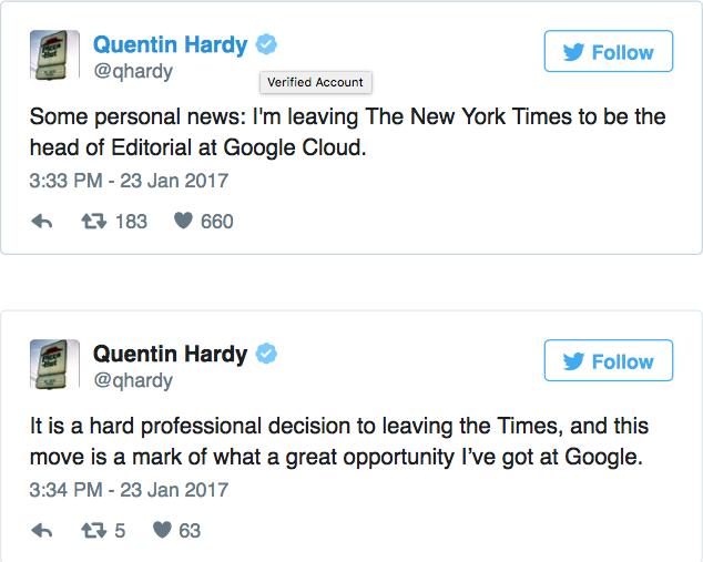 Hardy的推文