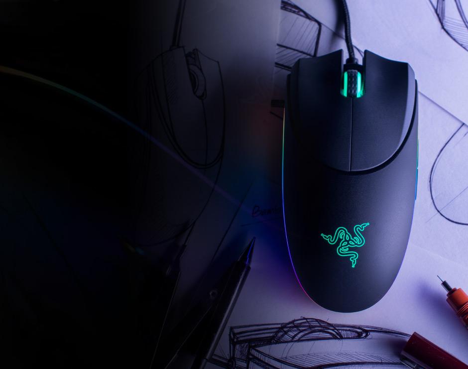 Razer 游戏鼠标的炫光设计在推出时受到不少追捧