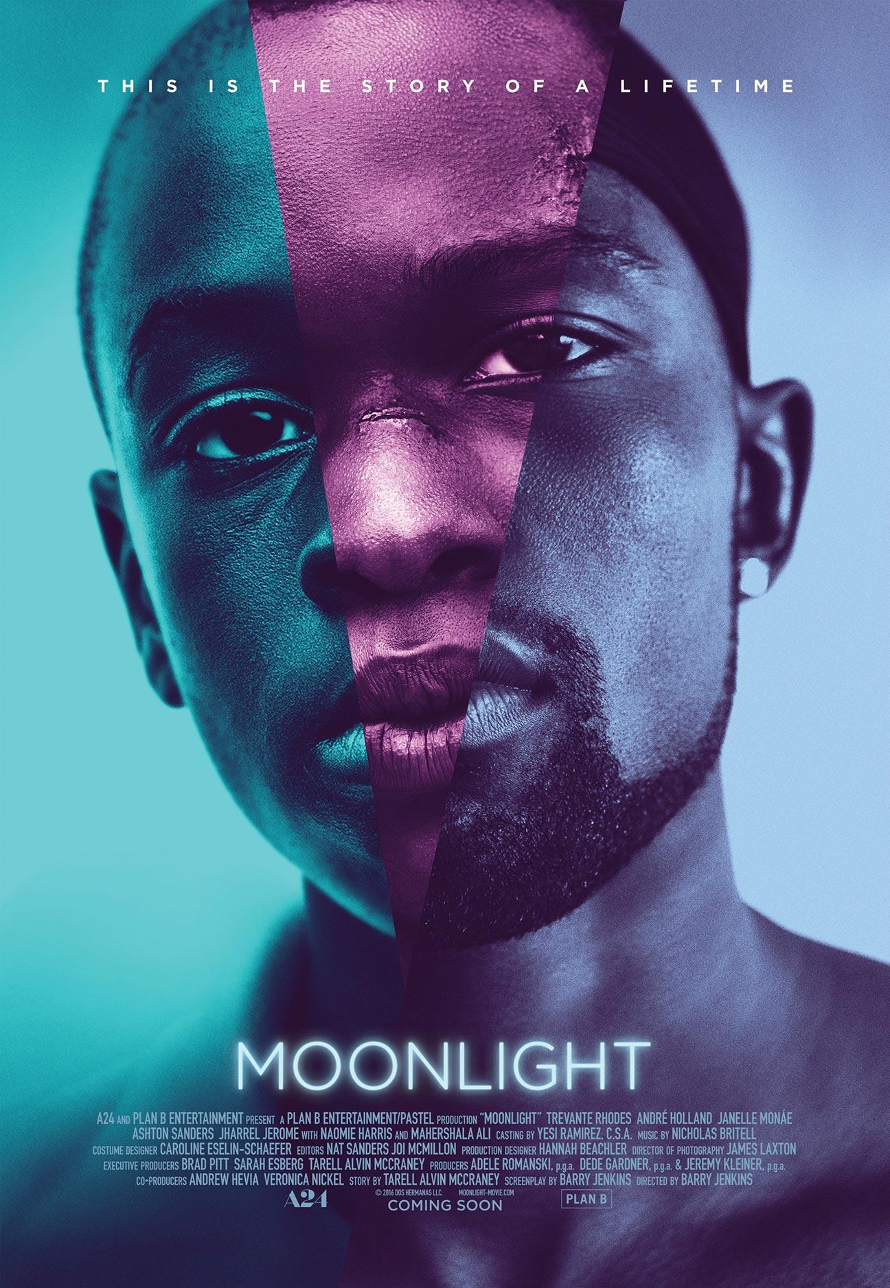 《月光男孩》海报