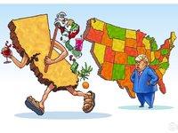 """加州要""""脱美""""独立,怒怼特朗普"""