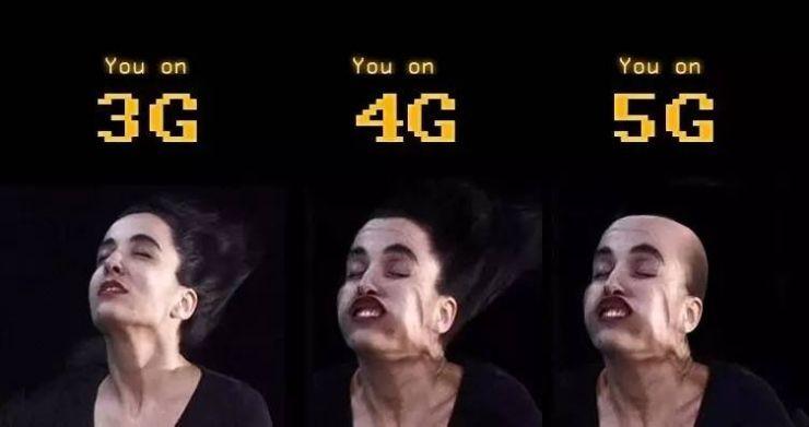 一张图片告诉你5G有多快