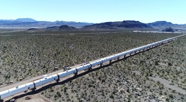 Hyperloop One的测试场