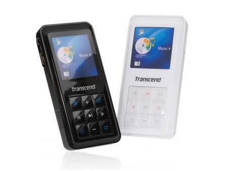 Transcend创见发布的MP4 T.sonic 820,1.5寸的OLED屏惹人注目
