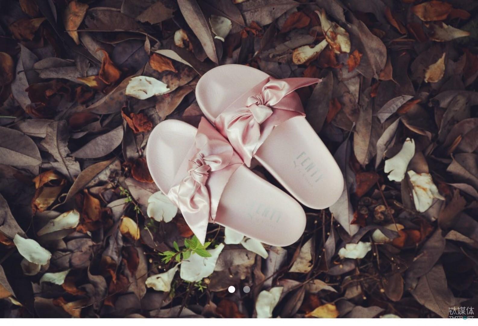 PUMA首发的小粉鞋是美铺推出的第一个热卖品