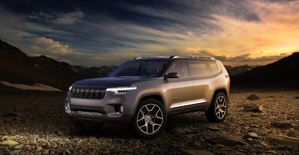 """继续揭秘Jeep云图,这些可能是它引领下一代SUV的""""四种武器""""-钛媒体官方网站"""