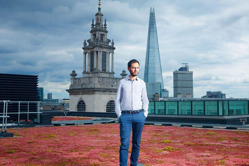 伦敦初创公司Property Partner创始人&CEO Daniel Gandesha。图片来源/wired.com