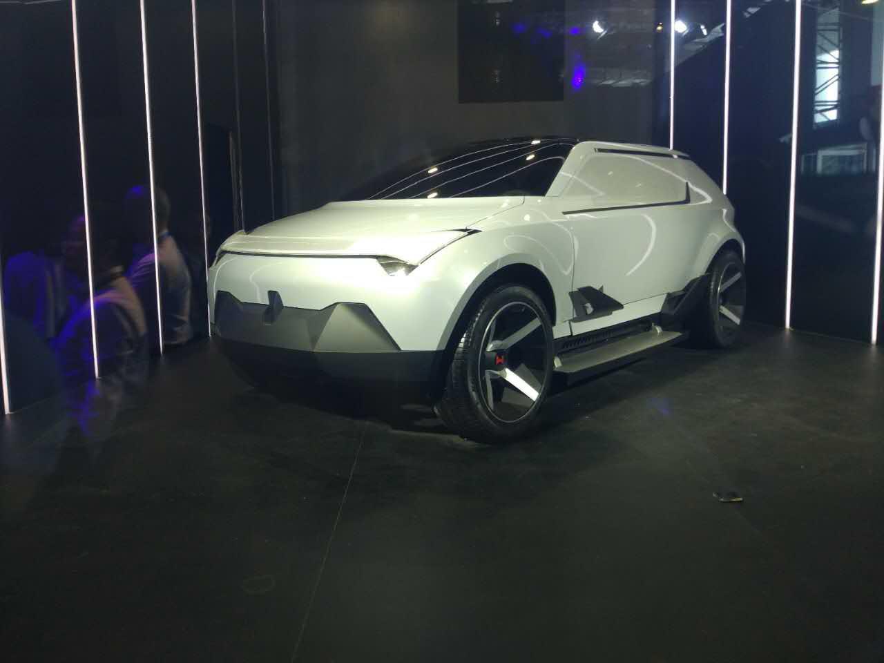 威马概念车AG2020正面
