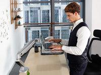 风靡硅谷白领圈,酷炫的桌面支架拯救你的颈椎