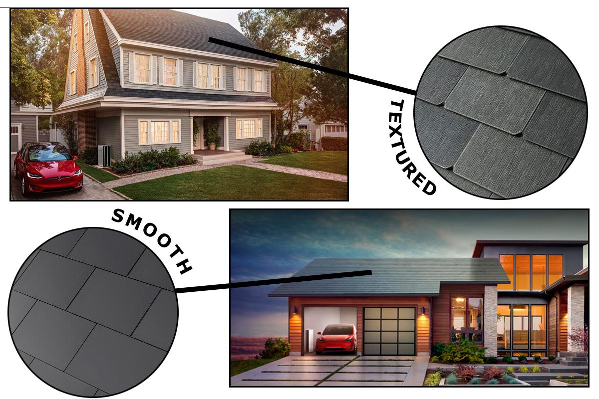 特斯拉屋顶太阳能电池。图片来源/Bloomberg.com